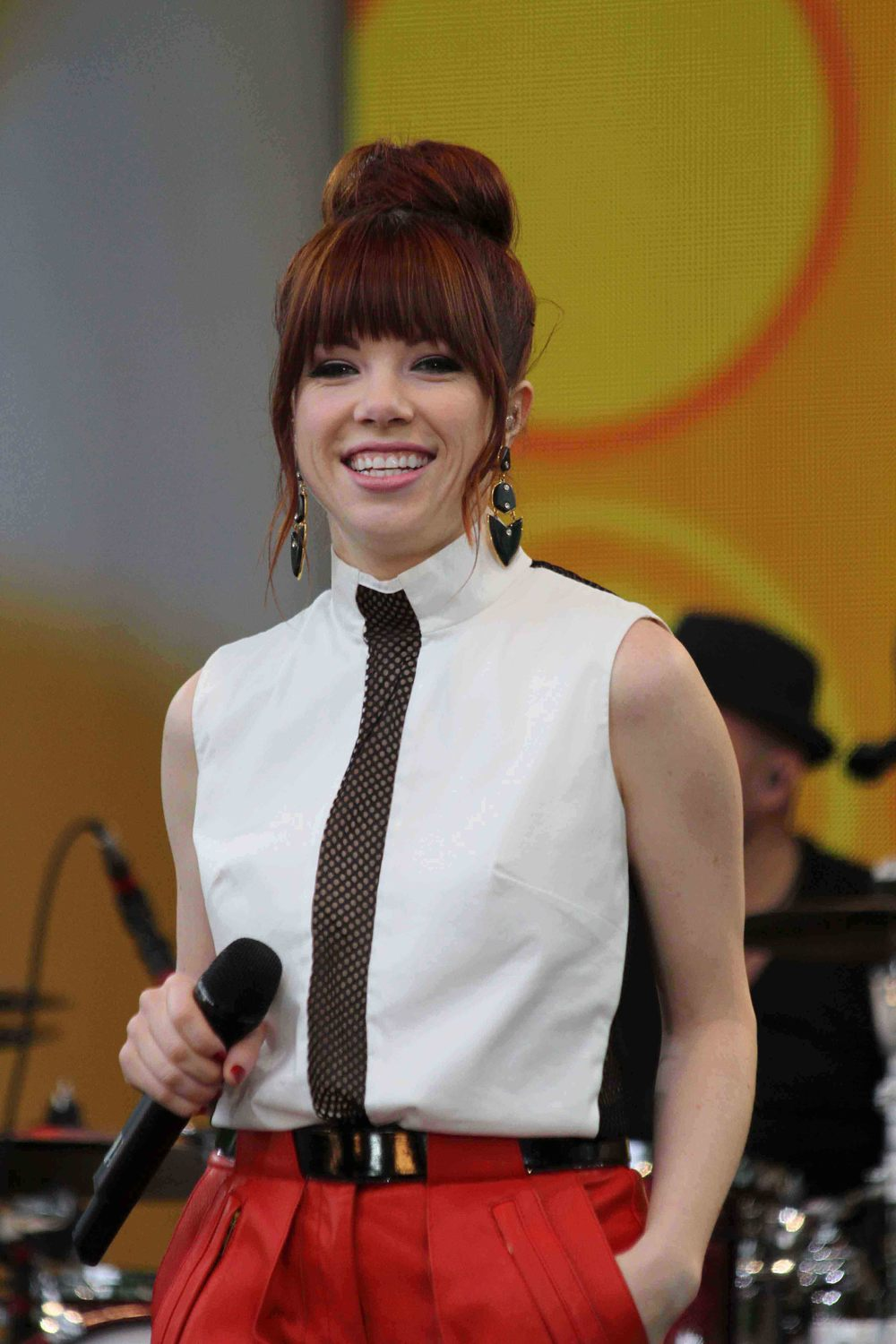 Singer Carly Rae Jepsen performs on ABC's 'Good Morning America' at Rumsey Playfield on June 14, 2013 in New York City. | © Alex Jackson Of KeDrew Media/2013.