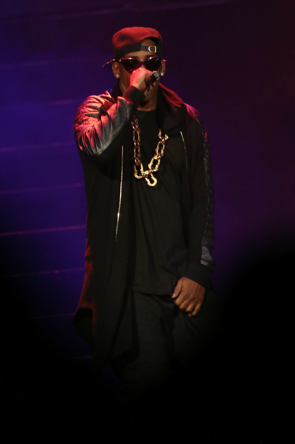 R Kelly Photographed In Concert By Alex Jackson